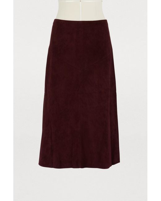 Stouls - Purple Indie Long Skirt - Lyst