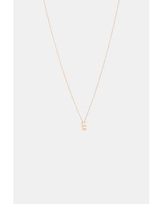 Vanrycke - Multicolor Alphabet Necklace E - Lyst