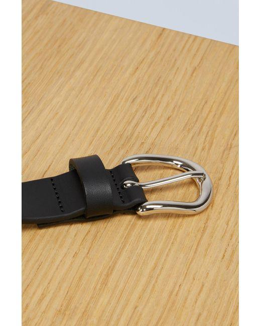 f92dd61941dd ... Isabel Marant - Black Zap Leather Belt - Lyst