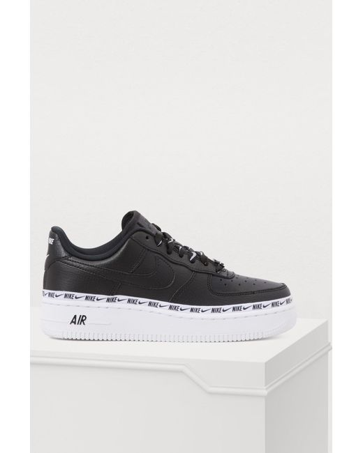 591e1ca33147 Nike - Black Air Force 1 07 Se Prm Sneakers - Lyst ...