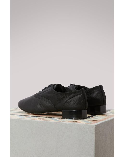 Repetto Woolen skin Zizi brogues