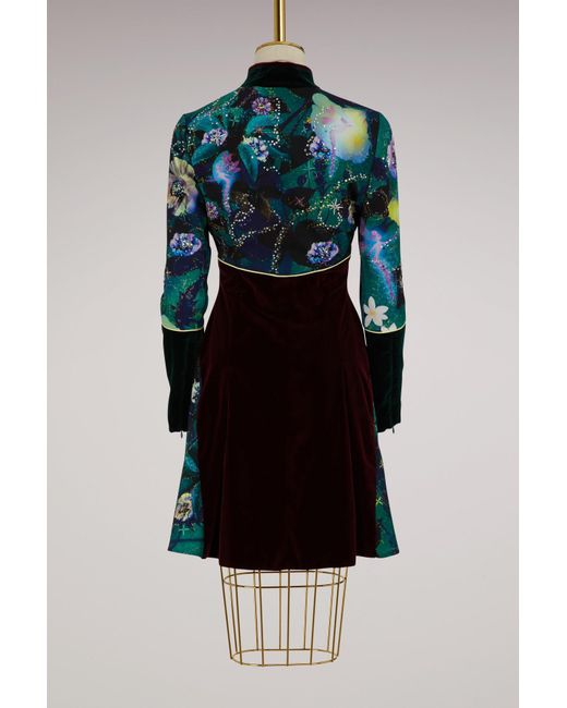 Faylinn embroidered velvet dress Mary Katrantzou