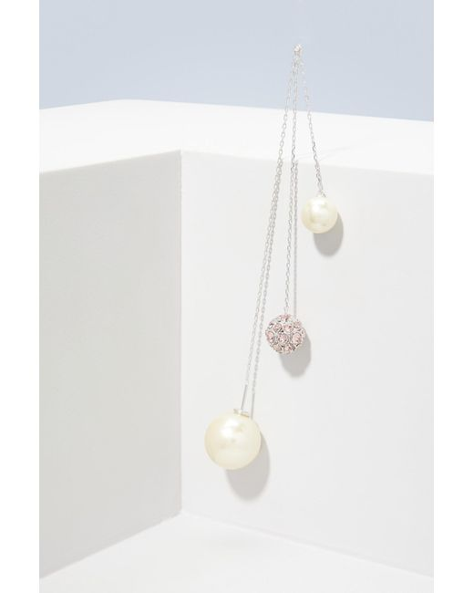 Marc Jacobs | White Pearl Cluster Delicate Earring | Lyst
