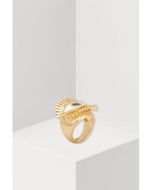 Chloé - Metallic Eye Ring - Lyst