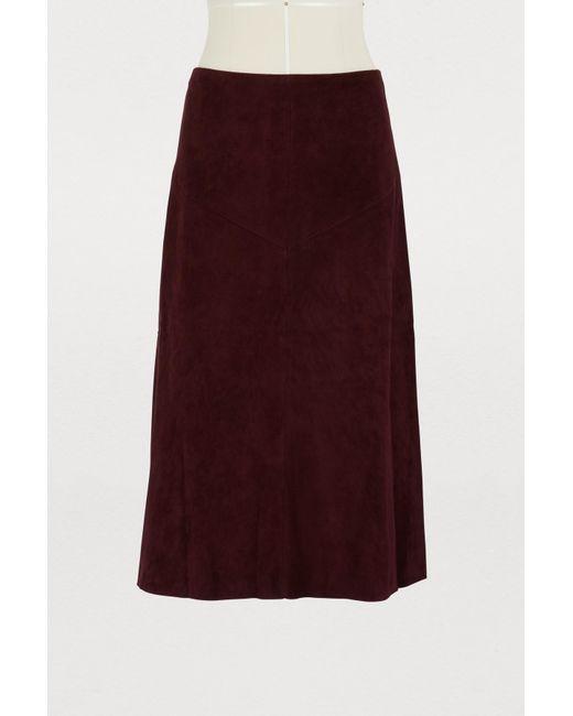 Stouls - Purple Indie Long Skirt - Lyst