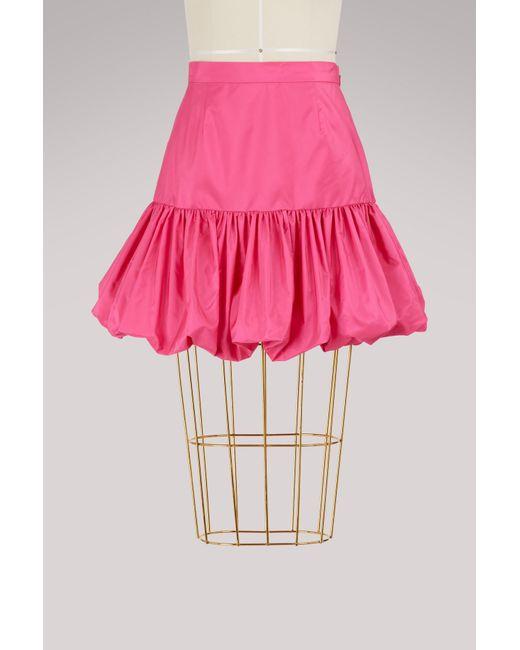 Stella McCartney - Pink Taffeta Skirt - Lyst