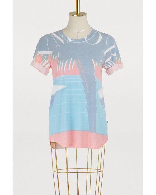 Sol Angeles - Blue Amor Palm T-shirt - Lyst