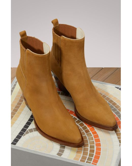 SARTORE Leather Western ankle boots Cheap Lowest Price For Sale Very Cheap Good Selling Online Reliable BvEzq