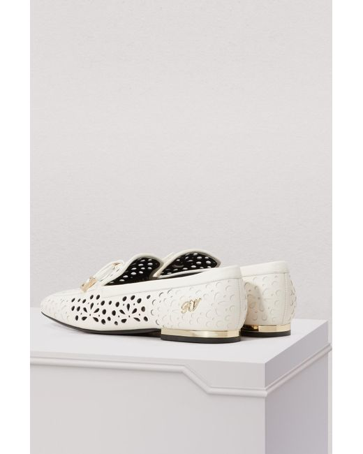 Roger Vivier Perforated moccasins zo52I1D
