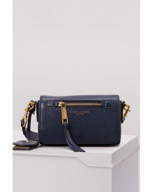 4434483f4604 Marc Jacobs - Blue Recruit Crossbody Bag - Lyst ...