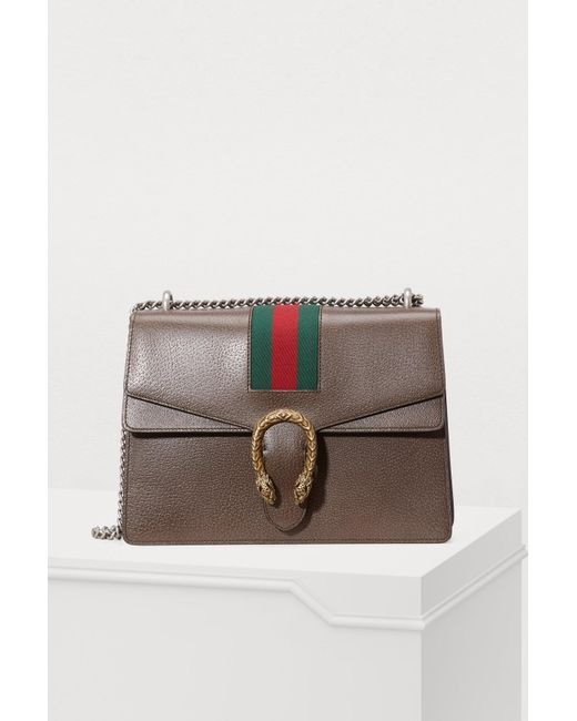 2411ed91c02 Gucci - Multicolor Dionysus Embroidered Shoulder Bag - Lyst ...