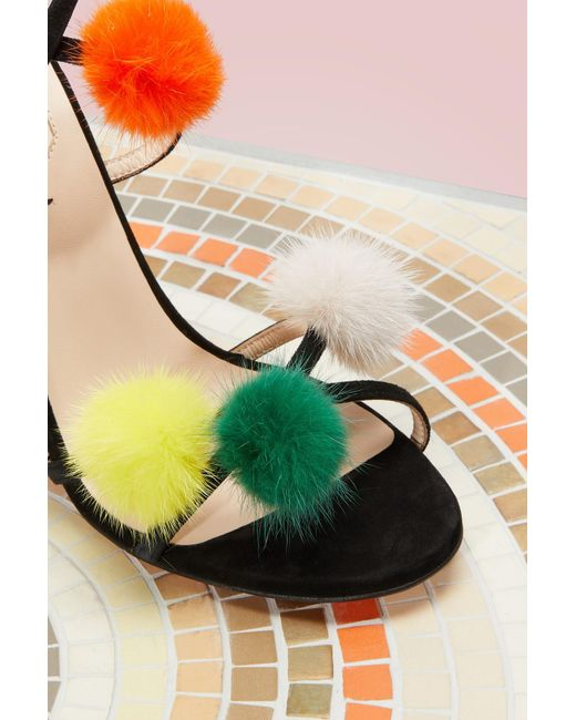 Fendi | Multicolor Sandals With Heels | Lyst