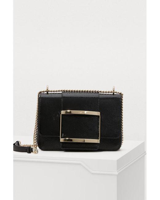 0daaa41f326 Roger Vivier - Black Très Vivier Small Shoulder Bag - Lyst ...