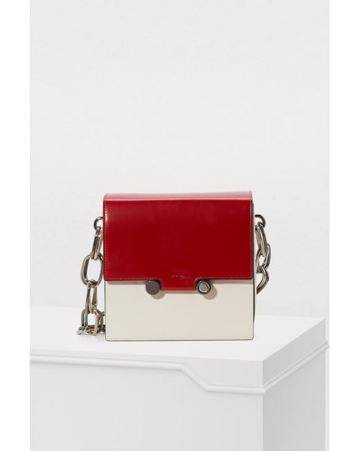 0d1a00f7712 Marni - Red Shoulder Bag - Lyst ...