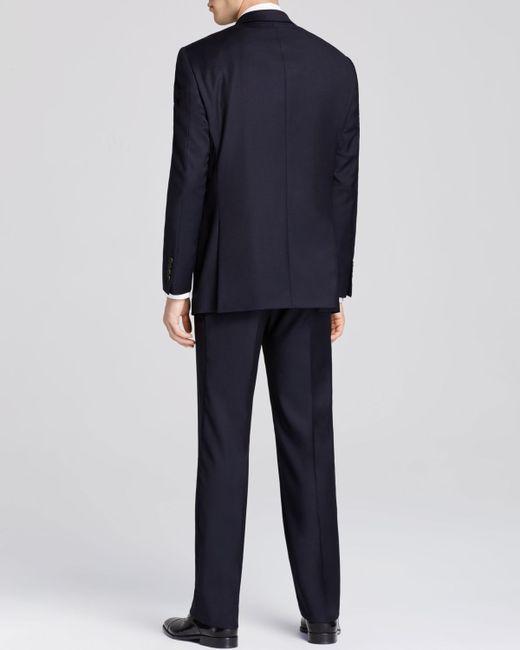 Hart Schaffner Marx | Blue Platinum Label New York Solid Classic Fit Suit - Bloomingdale's Exclusive for Men | Lyst