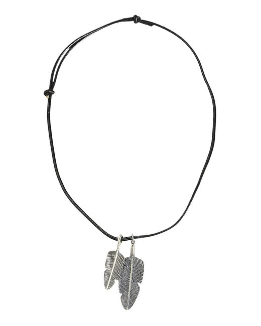 First People First | Black Necklace for Men | Lyst