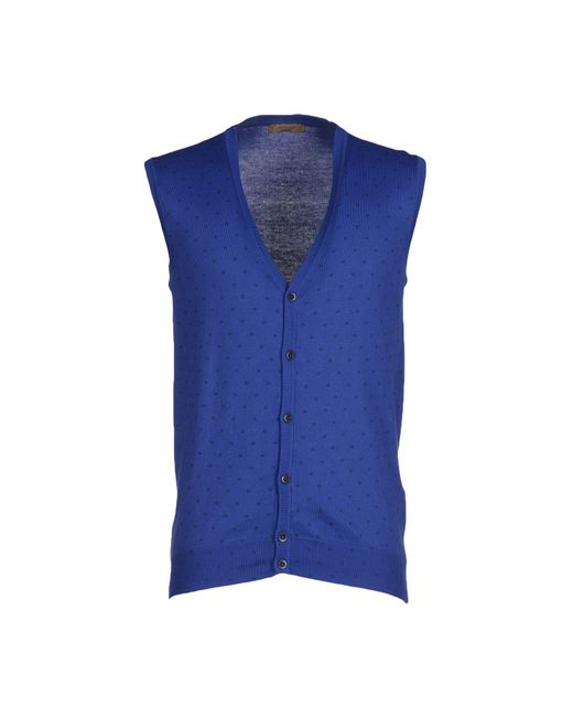 Retois | Blue Cardigan for Men | Lyst