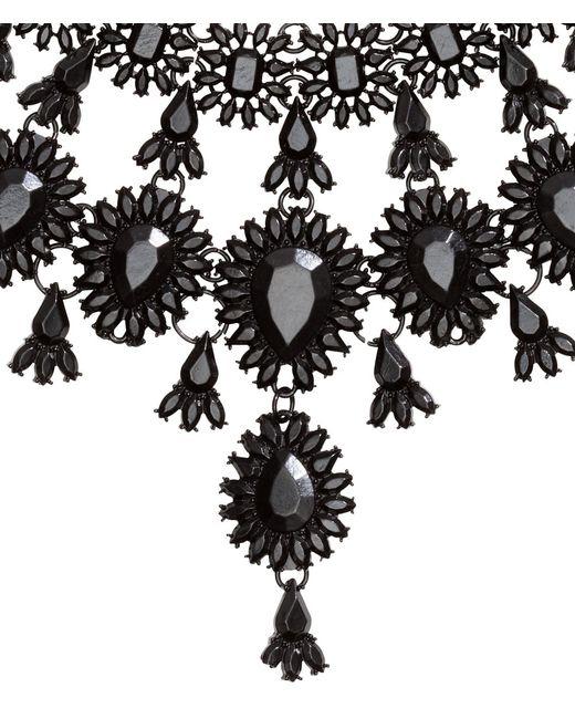 H&M   Black Metal Necklace   Lyst