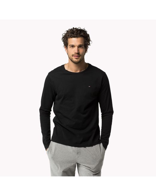 Tommy Hilfiger | Black Icon T-shirt for Men | Lyst