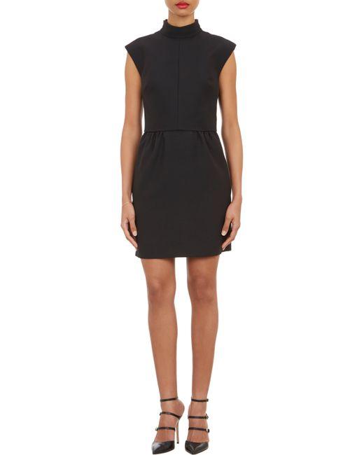 Valentino | Black Overlay Bodice Sleeveless Dress | Lyst
