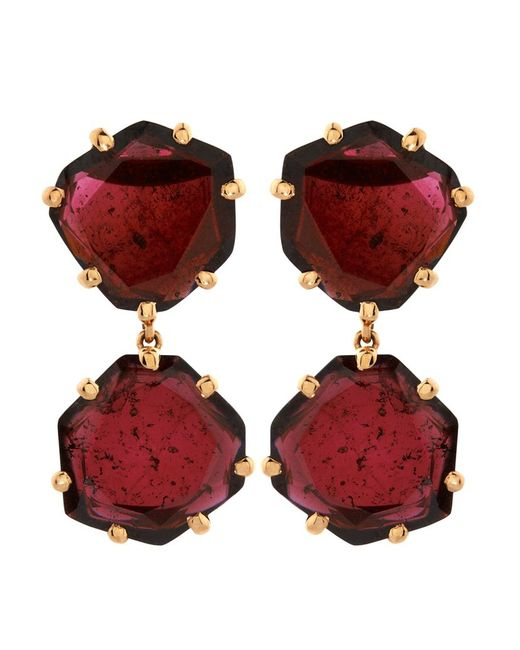 Annoushka | Red Shard Drop Earrings | Lyst