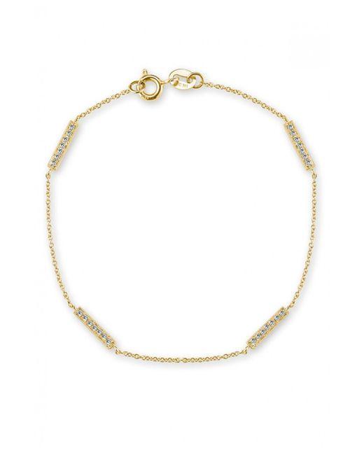 Dana Rebecca | Metallic 'Jacquie C.' Reversible Diamond Heart Bracelet | Lyst