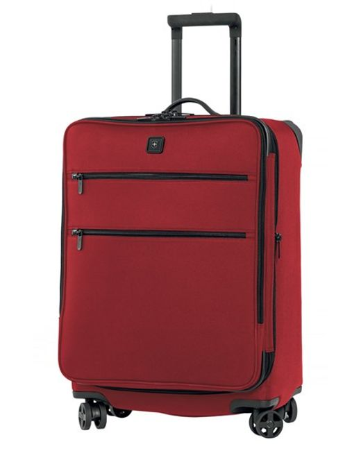 Victorinox | Red Victorinox Swiss Army 'lexicon 24' Dual Caster Wheeled Packing Case for Men | Lyst