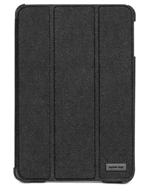 Michael Kors | Black Shadow Trifold Mini Tablet Cover for Men | Lyst