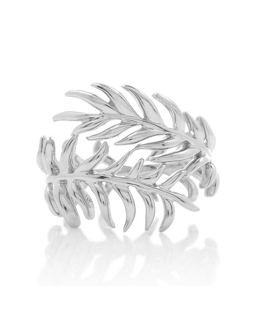 Katherine Jetter | Metallic Silver Fern Ring | Lyst