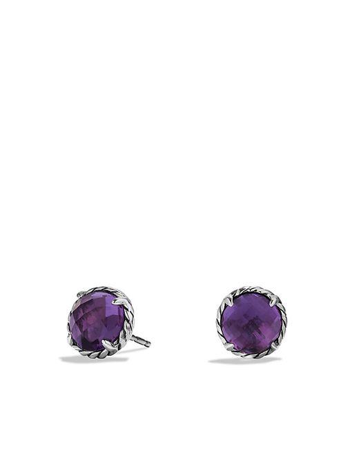 David Yurman | Purple Chatelaine Earrings With Amethyst | Lyst