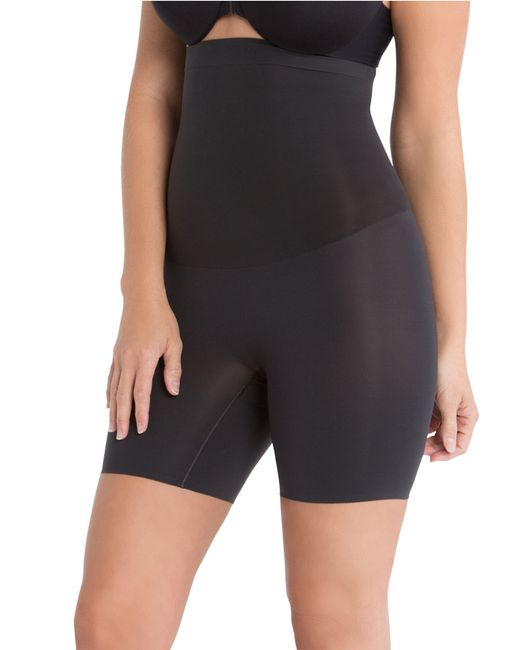 Spanx | Black Shape My Day High-waist Mid-thigh Shaper | Lyst