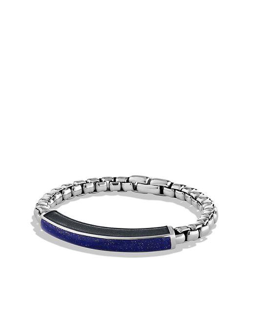 David Yurman | Metallic Exotic Stone Id Bracelet With Lapis Lazuli for Men | Lyst