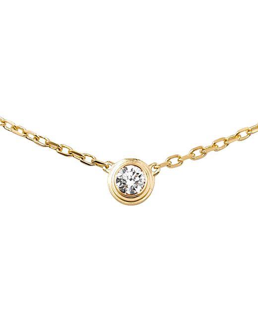 Cartier | Diamants Légers De 18ct Yellow-gold Large Necklace | Lyst