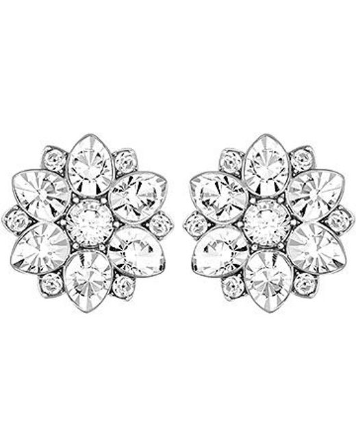 Swarovski | Metallic Celestial Earrings | Lyst