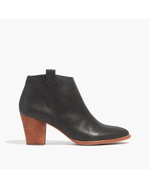 Madewell | Black The Billie Boot | Lyst