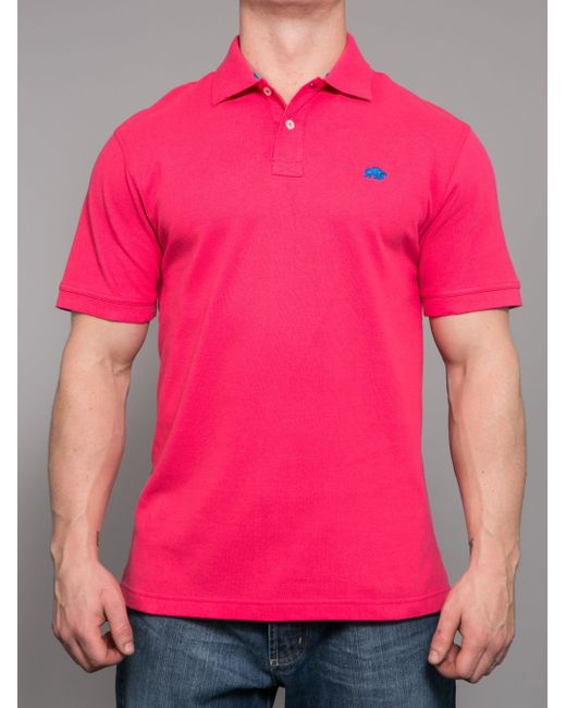 Raging Bull | Pink Big & Tall New Signature Polo for Men | Lyst
