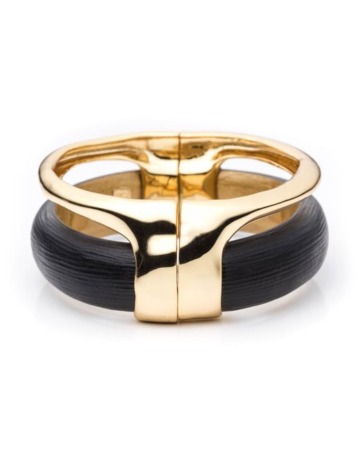Alexis Bittar | Metallic Gold Stacked Hinged Bracelet You Might Also Like | Lyst