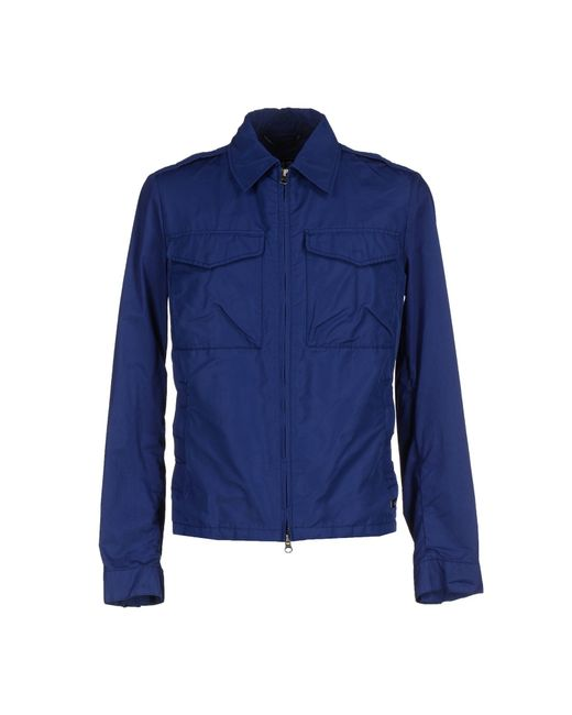 313 Tre Uno Tre | Blue Jacket for Men | Lyst
