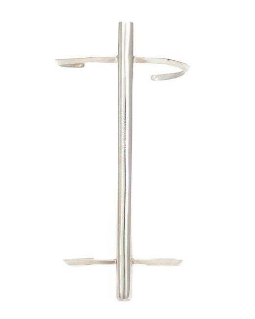 1-100 | Metallic Bar Detail Cuff | Lyst