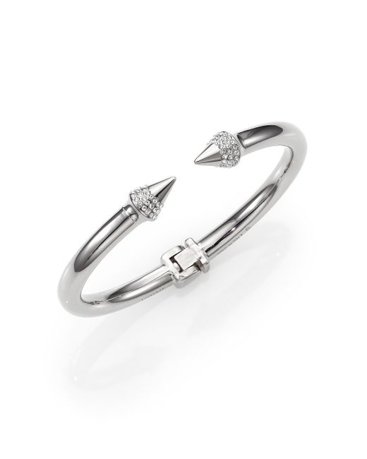 Vita Fede | Metallic Mini Titan Crystal Bracelet/silvertone | Lyst