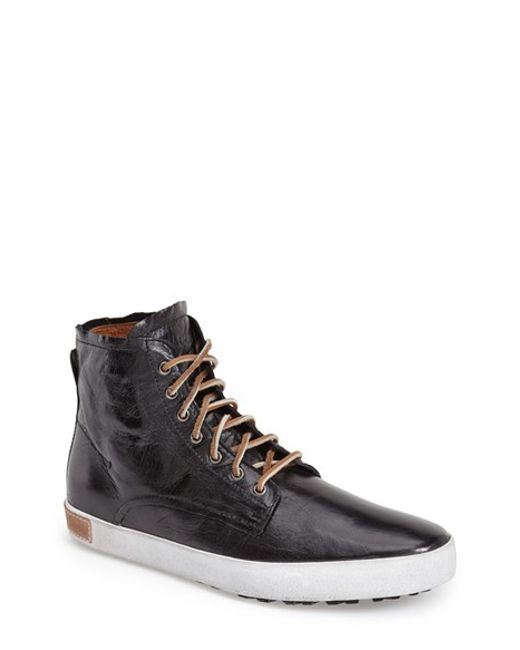 Blackstone | Black Im 10 Leather Sneakers for Men | Lyst