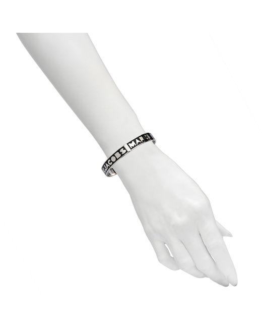 Marc By Marc Jacobs | Black Logo Bracelet | Lyst