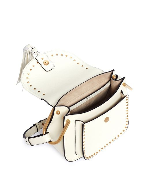 chloe hudson small leather shoulder bag