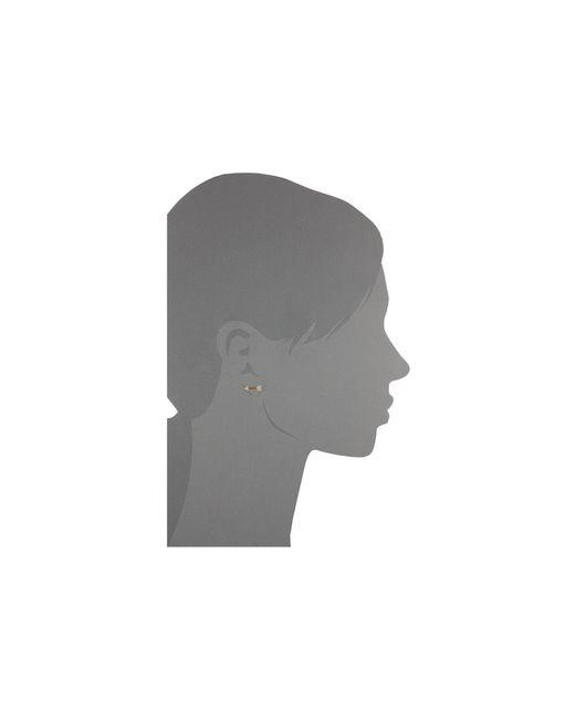 Kate Spade | Metallic Infinity & Beyond Hoops Earrings | Lyst