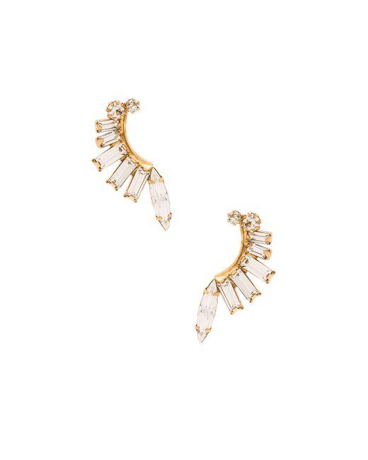 Elizabeth Cole   Metallic Earring   Lyst