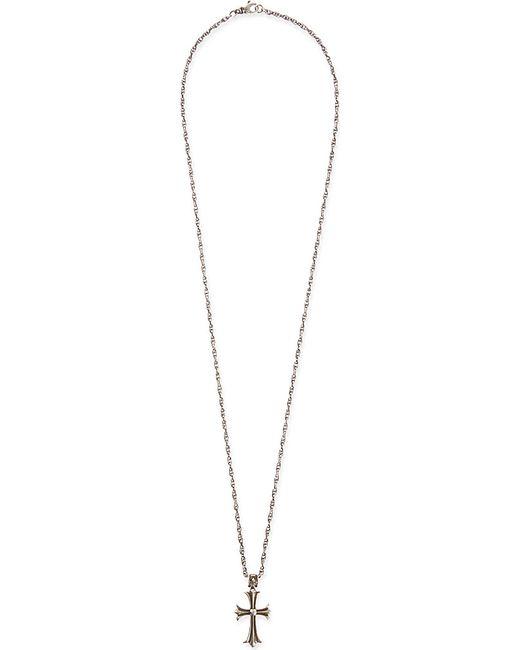Nialaya | Metallic Silver Cross Necklace for Men | Lyst