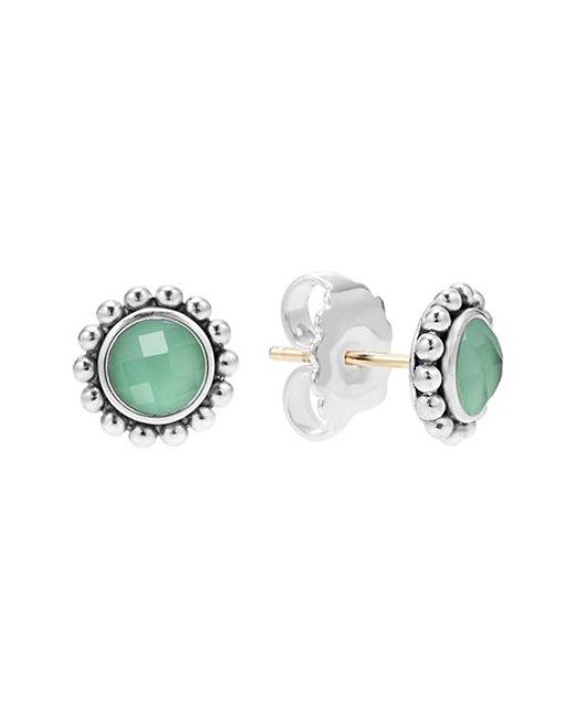 Lagos   Green Maya Doublet Stud Earrings   Lyst