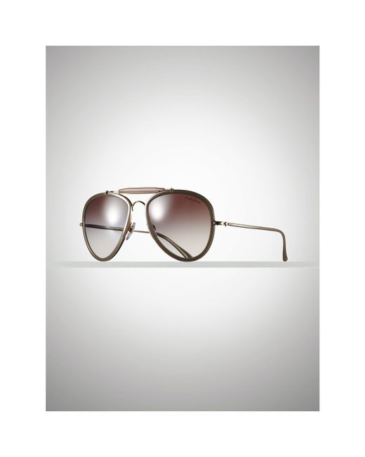 Pink Pony | Natural Vintage Pilot Sunglasses for Men | Lyst