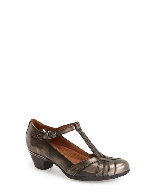 Cobb Hill | Angelina Metallic-Leather Pumps | Lyst