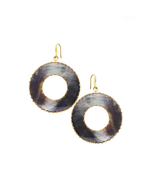 Lana Jewelry | Yellow Elite Mystiq Open Ring Earrings | Lyst